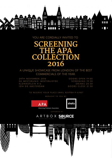 APA Collection Screening in Amsterdam
