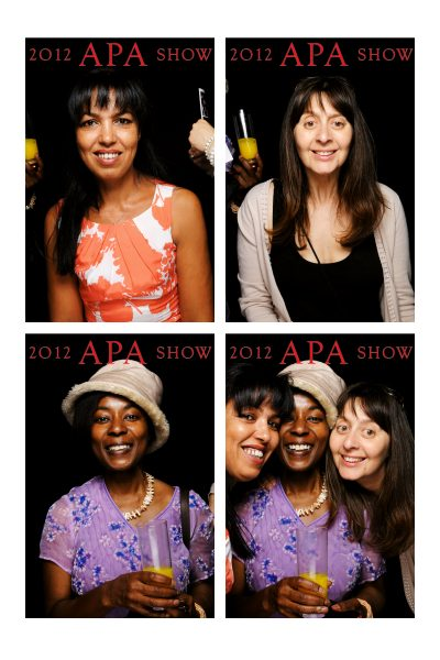 the apa show 2012 photobooth revealed advertising producers